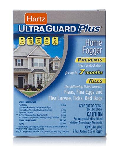 Hartz UltraGuard Plus Flea, Tick and Bed Bug Home Fogger - 2 Pack