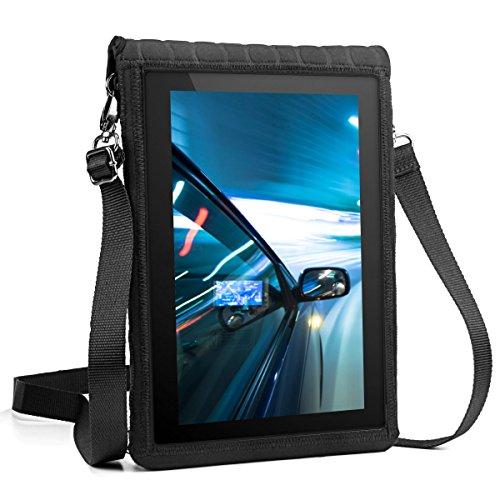USA Gear 9.7' (24,64 cm) Funda de Transporte con Funda para Tableta - Cubierta Protectora de Neopreno con Protector de Pantalla Táctil Incorporado y Correa de Transporte Ajustable