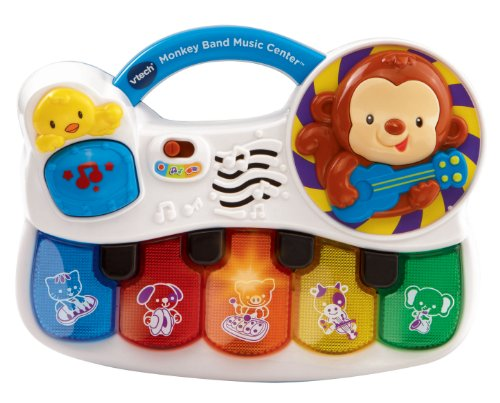 VTech Monkey Band Music Center (Toys That Light Up And Play Music)