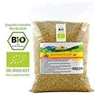 Bio Blütenpollen in (500g /1kg) - In Rohkostqualität aus dem Tal der Rosen in Premium-Imkerqualität - komplett rückstandsfrei - süßlich-mild