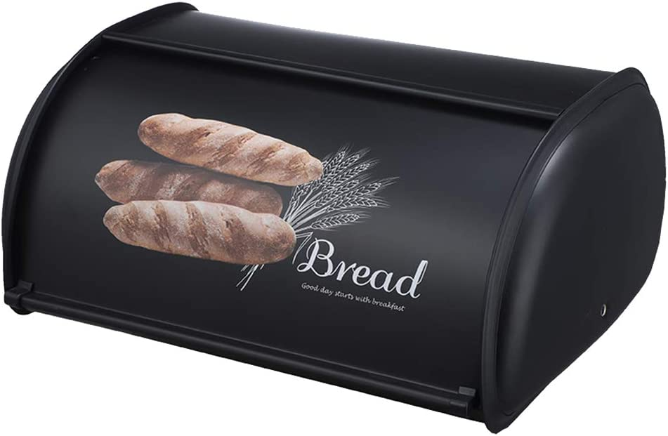 Tongina Bread Box Storage Bin Snack Boxes Dry Food Conta Limited Cheap super special price time cheap sale