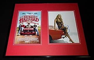 Jessica Simpson Signed Framed 16x20 Photo Set JSA Dukes of Hazzard Daisy