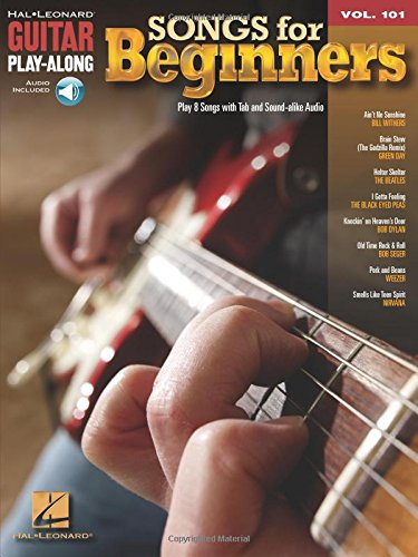 Guitar Play-Along Volume 101: Songs For Beginners. Für Gitarre, Gitarrentabulatur