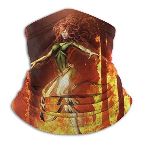 LANCHUN Captain Marv_el Avengers Superhero Ultimate Soft Skin Friendly Neck Warmer Face Mask Protectora BandaHeadband Super Moisture Absorber banda Protectora banda banda banda Beanie