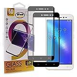 Guran [2 Pezzi Pellicola Vetro Temperato per ASUS Zenfone Live ZB501KL (5.2pollice) Smartphone Copertura Completa 9H Durezza HD Pellicola Protettiva - Nero