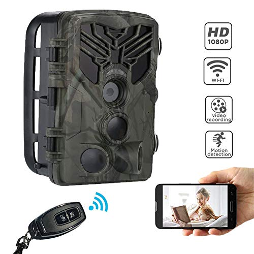 Lyhlyh Diercamera, wifi, waterdichte nachtzicht-jachtcamera, 20 MP camera-nachtzicht, geen gloeilamp, 0,3 s trigger-buiten-camera met bewegingsfuncties