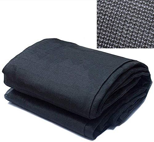 MGE Schatten Tuch Shade Net, Sunblock Schatten Tuch Roll, Schwarz-Farbton-Fabric 85% UV-beständig Maschennetzabdeckung for Pflanzengewächshaus Außenterrasse Garten Barn (Size : 16ft×20ft(5m×6m))