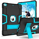 iPad 10.2 2019 Case iPad 7th Generation Case GUAGUA Kickstand Heavy Duty 3
