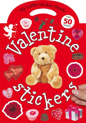 My Little Sticker Book Valentine: Over 50 Stickers [With Reusable Stickers]