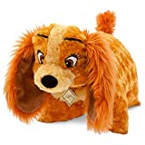 Disney Lady Dog Pillow Pal Plush Pet Doll NEW and the Tramp
