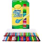Highlighter 50 PC Waschbar Super-Tipps Marker Set Aquarell kolorierte Zeichnung Pens Malerei...