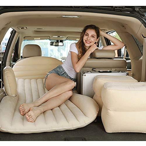 ZCY auto opblaasbaar matras voor SUV luchtbed achterbank slaapbank reisbed met luchtpomp, outdoor opblaasbare bed, auto-accessoires