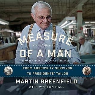 Measure of a Man audiobook cover art