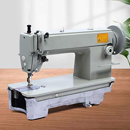 Máquina de coser de punto grueso para coser vaqueros, tiendas de campaña, artículos de cuero, etc. Máquina de coser plana de alto rendimiento, máquina de coser industrial, máquina de coser pespunte.