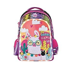 519n29NmH0L. SS300  - Footy - Mochilas Escolares para Niñas   Mochilas con Dibujos para Infantil y Preescolar   Varios Compartimentos   Llama…