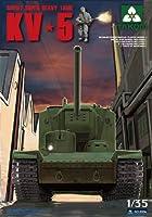 TAKOM 1/35 ロシアKV-5超重戦車 プラモデル