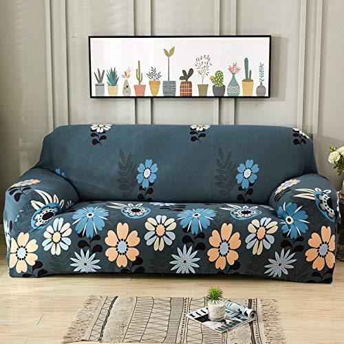 NOBCE Funda de sofá elástica de Color sólido para Sala de Estar Fundas de sofá de Esquina seccionales elásticas universales de Estilo L 90-140CM
