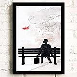 TBDY Klassischer Film Poster Drucke,Forrest Gump Hd