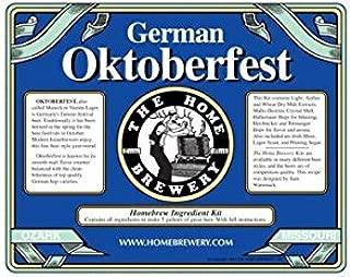 German Oktoberfest Home Beer Brewing Ingredient Kit