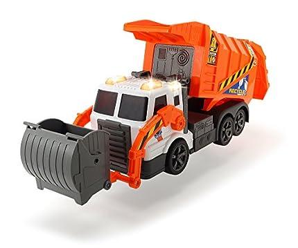 Dickie - Camión de Basura Naranja (3308369)