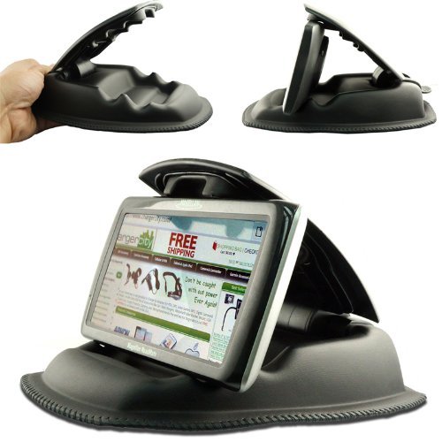 ChargerCity Hippo Series NonSlip Dashboard Beanbag Friction Mount for Garmin Nuvi, TomTom, Via GO