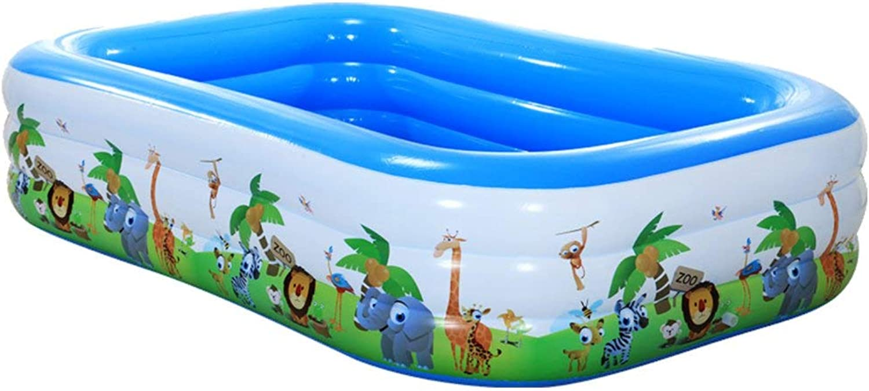 Relaxbx Familien-Swimmingpool Aufblasbare Pool-Badewanne Spielpool Langlebige Sicherheit Umweltschutz