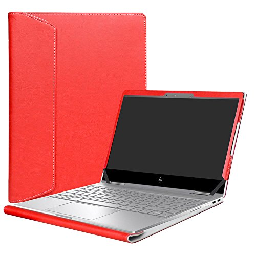 """Alapmk Protective Case Cover for 13.3"""" HP Spectre x360 13 13-aeXXX (13-ae000 to 13-ae999,Such as 13-AE013DX 13-AE011DX,Not fit Spectre x360 13-acXXX/13-wXXX & Spectre 13) Series Laptop,Red"""