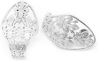 Orecchini in argento con gigli