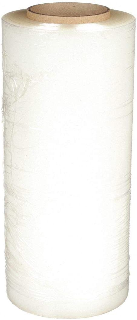 Value Brand 15A933 Hand Stretch Wrap Clear W 2000 Columbus Mall ft.L 12In Direct stock discount