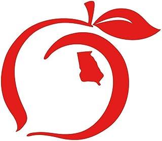 e6b22d996 Peach State Pride Logo Sticker (Red)