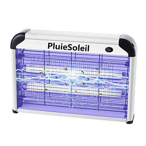 PluieSoleil Moskito Lampe Elektrischer, UV Insektenvernichter Elektrisch Innen mit 2000V Gitter 20W, moskito mörder Lampe Elektrische Für Wohn und Gewerbezwecke
