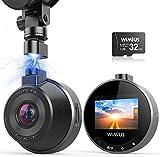 DashCam WiFi Autokamera, WIMIUS 1080p Auto...