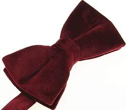 100% Silk Velvet Bowties for Men- Formal Tuxedo Bow Ties-Various Color