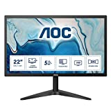 AOC 22B1HS 21.5' Full HD LED Flat Black Computer Monitor