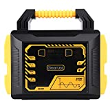 Portable Power Station 300W 110V 80000mAh 296Wh Generators Router Battery Backup Power Supply Pure Sine Wave Peak 600 with 2 AC Outlet Type-C QC3.0 PD18W Output for PC CPAP Laptop RV Camping Emergency