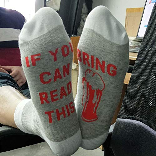 ROUNDER WENN SIE KÖNNEN Herrensocken, Frauensocken, Socken, Socken, Socken, Socken, Männer und Frauen 5 Paar Paar Größe-Hellgrau/Bierglas