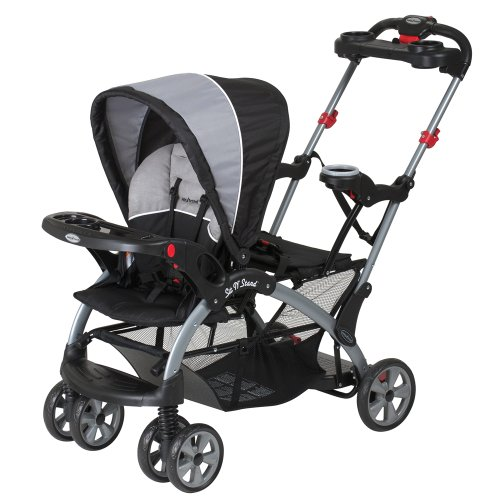 Big Save! Baby Trend Sit N Stand Ultra Tandem Stroller, Phantom