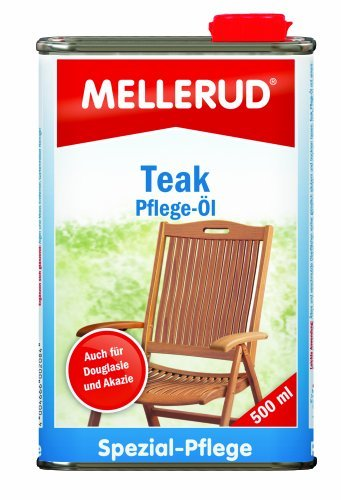 Mellerud 2001002084 Teak Oil Protection 0.5 l by Mellerud