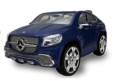 Auto elettrica per bambini Mercedes Benz Coupè 12V a due posti Biemme blu