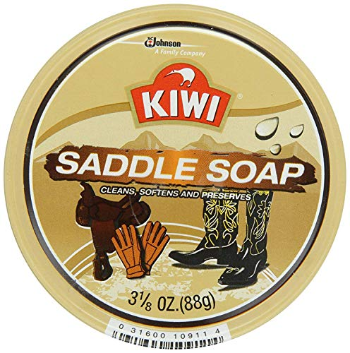 Kiwi Saddle Soap, 3.125 Ounce (No Color, Pack - 3)