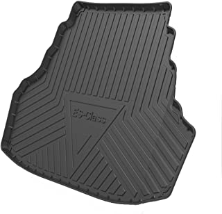 Rubber Front And Rear Trunk Mats Boot Liner Mat Car Rear Trunk Boot Liner Mat Durable Rear Cargo Liner for Lex-us ES240/NX...