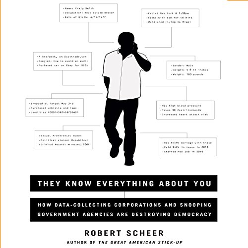 They Know Everything About You audiobook cover art
