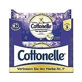 Cottonelle Carta igienica umida, mia spa, tè verde e gelsomino, biodegradabile, richiudibile, confezione risparmio da 12 x 44 panni