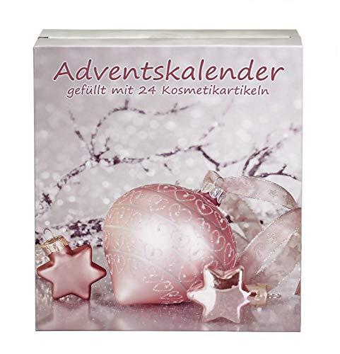 Adventskalender X-Mas Dreams Türchen gefüllt mit Kosmetikartikeln