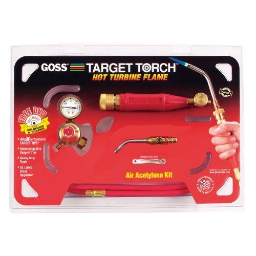 Goss KX-5MC Soldering Brazing Torch Kit for