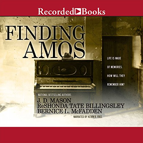 Finding Amos audiobook cover art