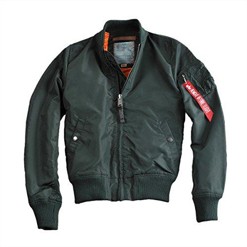 ALPHA INDUSTRIES Damen MA-1 TT Wmn Jacke, Verde Oscuro, S Regular