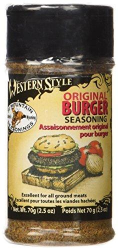 Hi Mountain Jerky Western Style Original Burger Seasoning, 2.5-Ounce Jars (Pack of 12)