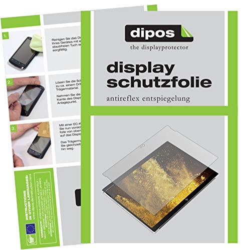 dipos I 2X Schutzfolie matt kompatibel mit HP Elite X2 G4 12.3 Zoll Folie Bildschirmschutzfolie