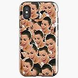 Crying Kim Kardashian Fashion New York Pattern London Paris France Band Valentine Hdk Music Ape Tour Us Logo Gift Mov - Apocalypse Phone Case Glass, Glowing For All Iphone, Samsung Galaxy-spublisers.